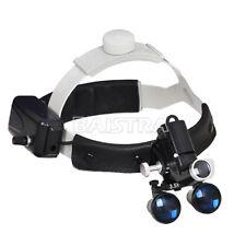 Dental Loupes Surgical Binocular Glass Medical Magnifier Amp Led Head Light Sino