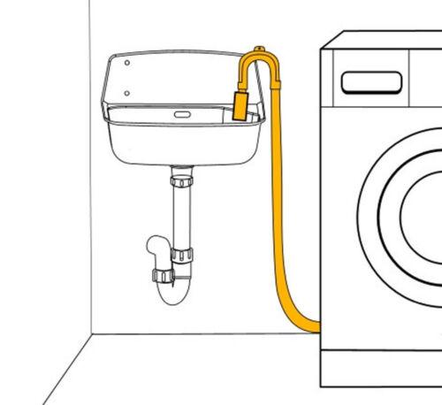 """Haas scadenza TUBO 3//4/"""" x 1,5 M Lavatrice Lavastoviglie Tubo Supporto"""