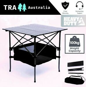Terrific Tra Heavy Duty Steel Aluminium Folding Collapsible Camping Interior Design Ideas Tzicisoteloinfo