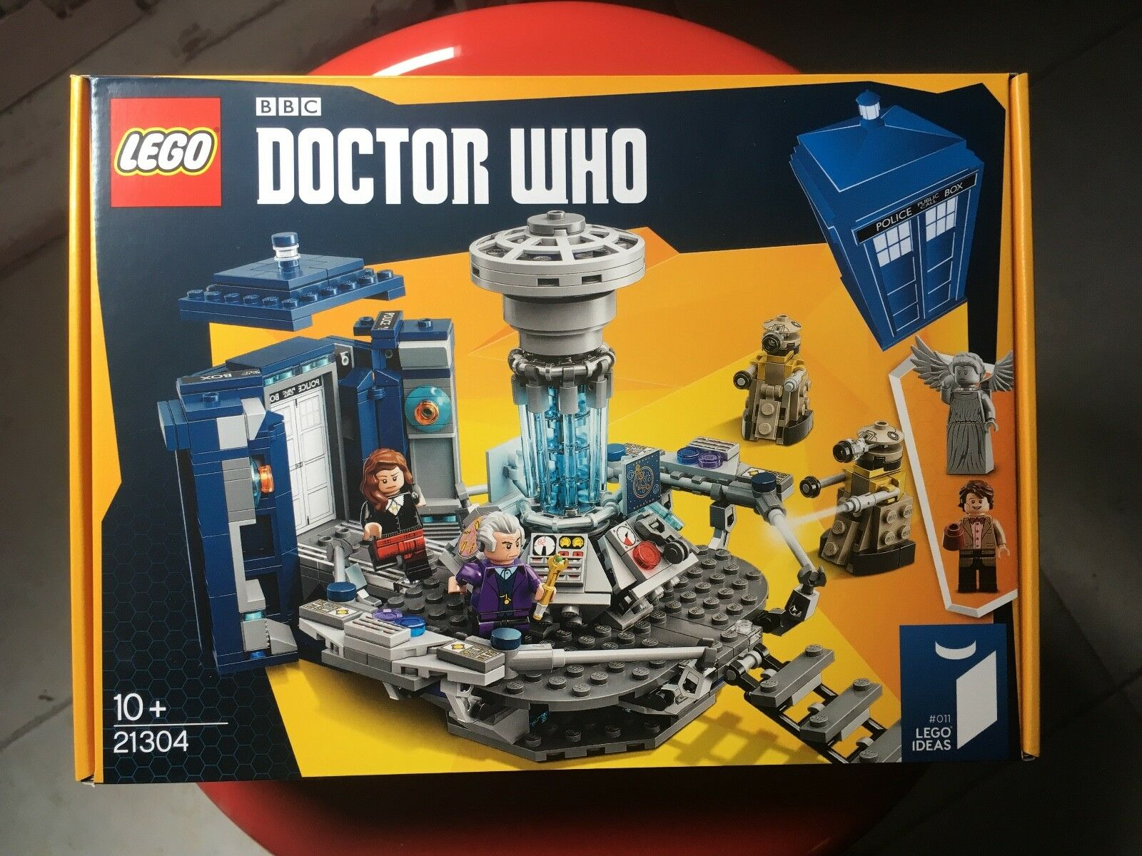 Dr Who Who Who Lego NRFB New aa9e10