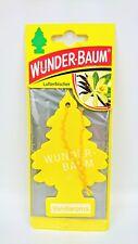 5 x Wunderbaum Lufterfrischer Echtleder 134244
