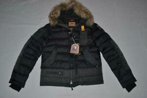 AUTHENTIC-PARAJUMPERS-SKIMASTER-MENS-PARKA-JACKET-BLACK-S-SMALL-BRAND-NEW