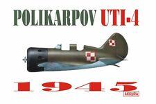 POLIKARPOV UTI-4 (ZWEI SITZER I-16) 1/72 AKKURA RARITAT