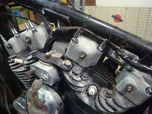 HARLEY SPORTSTER IRONHEAD ROCKER BOX CHROME SPIKE NUTS BOLTS chopper bobber pike