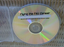 1 DVD Amazing WWII Aviation Army-Air Force Films,  F4U CORSAIR (see description)