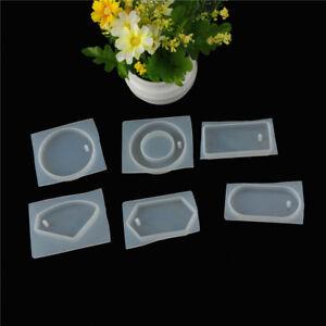 Colgante-de-cadena-sueter-Casting-molde-de-Epoxy-silicona-resina-liquido-DIY