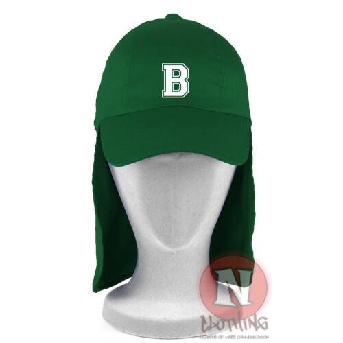 Personalised varsity font initial legionnaire Baseball Cap Kids Sun 100/% Cotton