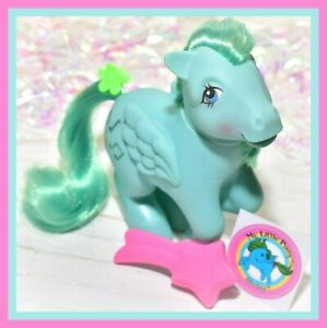 ❤️My Little Pony MLP G1 Vintage 1983 Pegasus Ponies Medley & Original Brush❤️