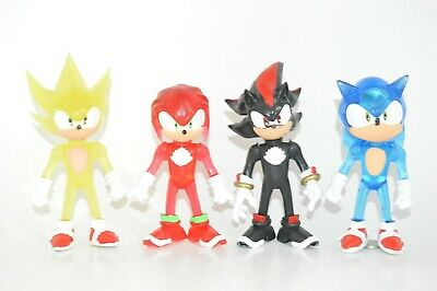 FIGURES MADE IN MEXICO TOY PACK 4 FIGURES Sonic the Hedgehog