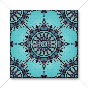 Image Is Loading Ceramic Tile Moroccan Design Blue Kitchen Bathroom