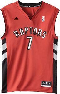 26df2c2da01 Image is loading Toronto-Raptors-Black-Replica-Jersey-Andrea-Bargnani-7-