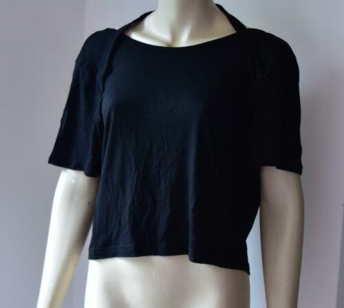 CHEAP MONDAY BLACK TOP Reject Top size S RRP £25 new with tag # 4