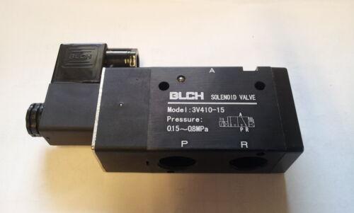 """blch Pneumatik válvula 3//2 IG 1//2/"""" 230 voltios et3v410-15-230vac"""