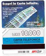 SCHEDA TELEFONICA NUOVA   GOLDEN 123 C&C  1216    ( CARTA INFINITA ) SENZA OCR