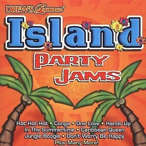 FREE US SHIP. on ANY 3+ CDs! USED,MINT CD The Hit Crew: Drew's Famous Island Par