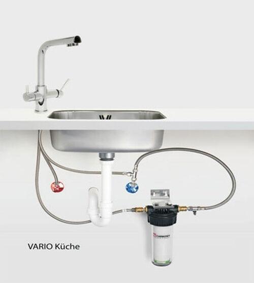 CARBONIT vario Cuisine Filtre Avec ws 7 Combi robinet