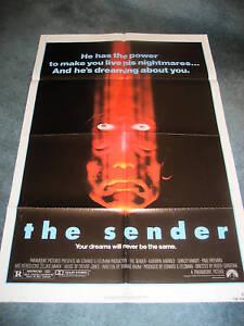 THE SENDER(1982)KATHRYN HARROLD SHIRLEY KNIGHT ORIG 1SH