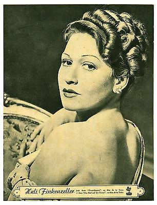 Publicité Ancienne Heli Finkenzeller Joue Dans Fronttheater 1941 Issue Magazine
