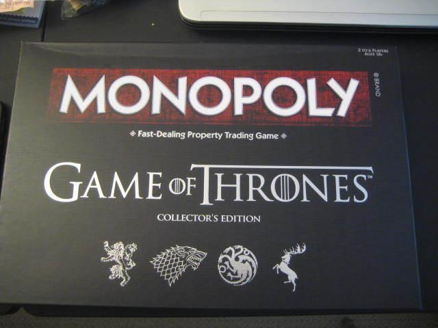 Seleccione de las marcas más nuevas como Monopoly  Juego Of Thrones Edición de Coleccionista Juego Mesa Mesa Mesa - Nuevo, en Caja  productos creativos