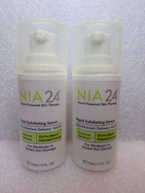 NIA24 RAPID EXFOLIATING SERUM  TOTAL 1 OZ / 30 ML NEW