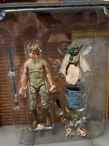 Star Wars Black Series Jedi Training Luke Skywalker Yoda