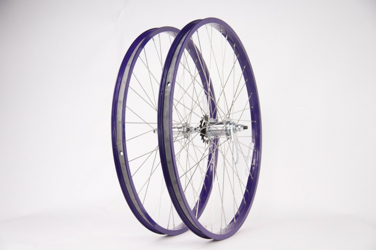 Purple Beach Cruiser  26  Rims W Coaster Brake Front & Rear Wheels  online cheap
