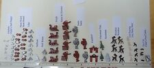 Miniature Dollhouse 1/144 scale 78-pc Xmas Tree Sleigh Deer Santa Toys FP Lot