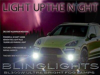 Xenon Halogen Fog Lamps Driving Lights For 2008 2009 2010 Porsche Cayenne