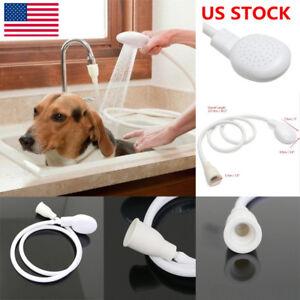 Us Single Tap Sink Bath Shower Head Dog Pet Washing Holder