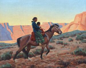 Dixon-Maynard-Navajo-Mother-Print-11-x-14-3305