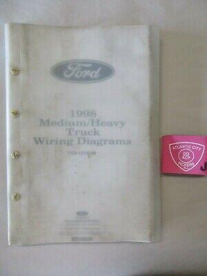 1998 FORD MEDIUM/HEAVY TRUCK ELECTRICAL WIRING DIAGRAM ...