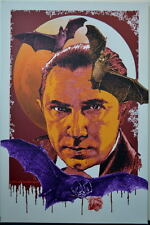 Bela Lugosi COUNT DRACULA Limited Edition CANVAS Stretched / Framed