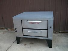 ATTIAS SPACE SAVER  NATURAL DECK GAS PIZZA OVEN BRAND WITH STONES