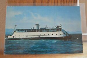 Details about C 1958 M  R  Chessman Ferry - Astoria Oregon to Megler  Washington Postcard