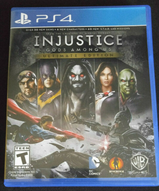 Injustice: Gods Among Us Ultimate Edition Sony PlayStation ...