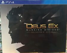 DEUS EX MANKIND DIVIDED COLLECTOR'S EDITION PS4