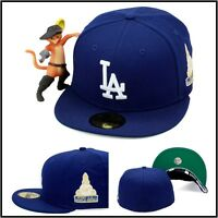 Era Los Angeles La Dodgers Fitted Hat Cap 1959 World Series Side Patch Mlb