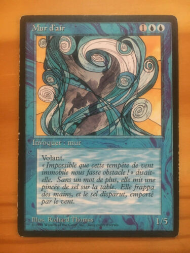 Mtg Fbb Wall of Air French MP