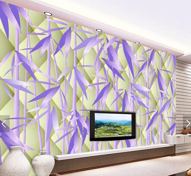 3D Bambus Kunst Muster77 Tapete Tapeten Mauer Foto Familie Tapete Wandgemälde DE