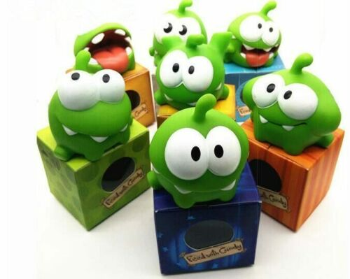 Hot1Pcs Rope Frog Vinyl Rubber Android Games Doll Cut The Rope OM NOM Candy