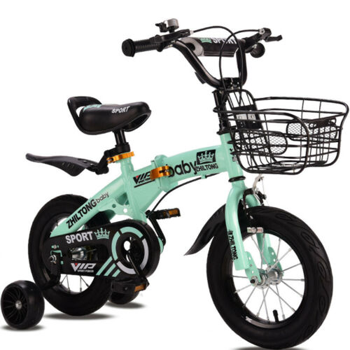 New Folding kid bike 12//14//16//18 inch children bicycle for Boys and girls