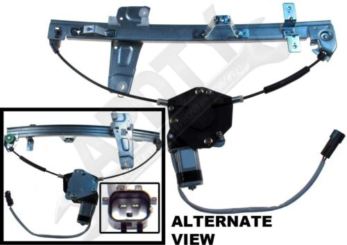 APDTY 852663 Power Window Regulator and Motor Assembly Front Left Driver-Side