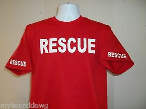 Rescue-Fire-Firefighter-Tee-T-Shirt-Your-Choice-of-Colors-Free-Shipping-in-USA