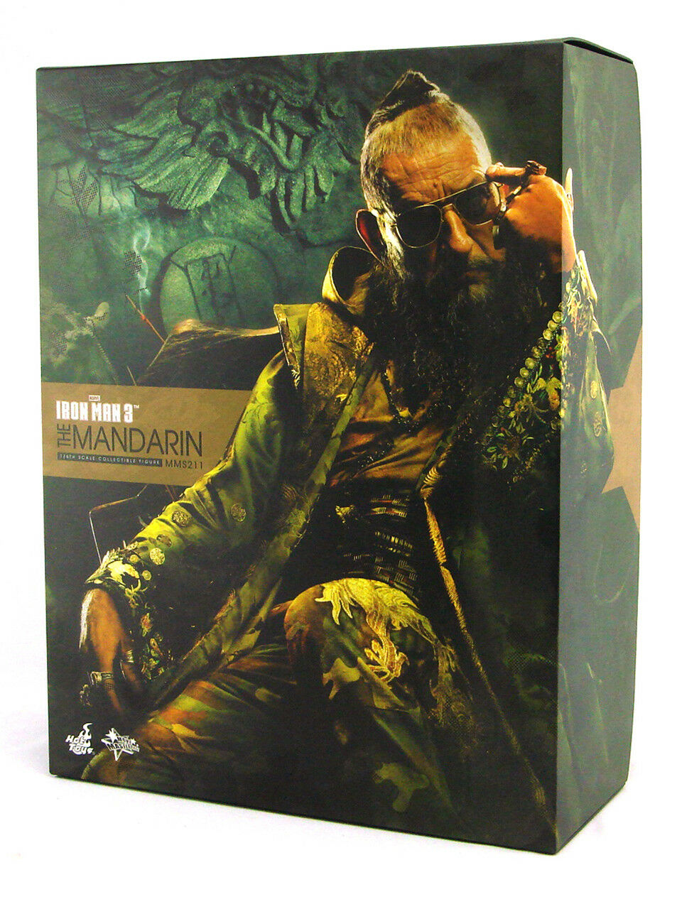 Hot Toys Iron Man 3 The Mandarin 1/6 Scale Scale Scale Figure Ben Kingsley Marvel New MMS211 c38df5
