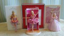 Hallmark Carlton 1996 2012 2013 Baribe Prima Brava Ballerina Spring Ornament LOT