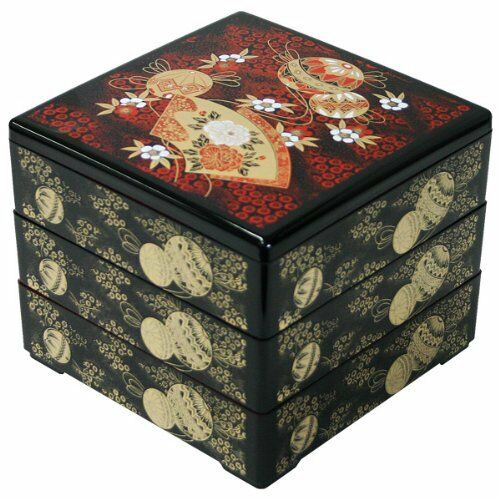 ya08619 Japanese Traditional Jyubako Bento Box for picnic/party from Japan New!
