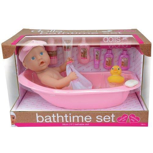 Peterkin Dollsworld Bath Play Set - 8855