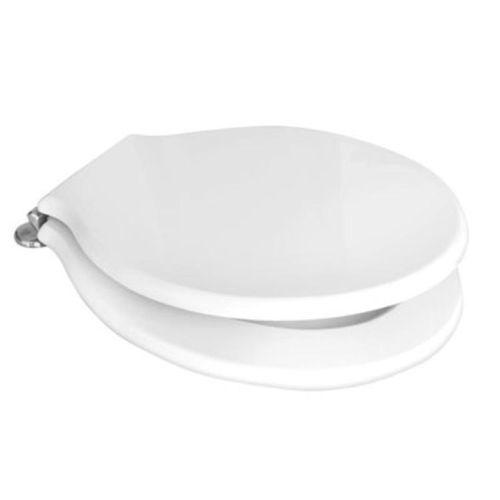Toilettensitz Sitz Wc Sitzbezug für Haus Keramik Wells Ginori Serie Monte Weiß   Genialität