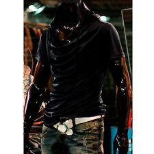 b4957f94b499 Hot Fashion Men Hooded T-shirt Korean Casual Hoodie Shirts Short Sleeve Cap  Top