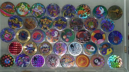 10PC Lot RETRO Metal Slammers Acrylic Pounders 90s stock WHOLESALE HOLOGRAPHIC